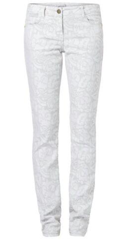 grigio chiaro fantasia Pantaloni 40 Marella Rosita stretch Mod Taglia qFEzwSz