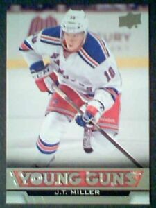 J-T-MILLER-13-14-AUTHENTIC-UDS1-YOUNG-GUNS-CARD-SP