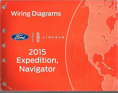 2015 Ford Expedition,Lincoln,Navigator Factory Electrical Wiring Diagrams  88615 | eBay | 2015 Ford Expedition Wiring Diagram |  | eBay