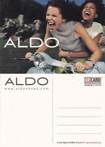 ALDO-SHOES-UNUSED-ADVERTISING-COLOUR-POSTCARD-e