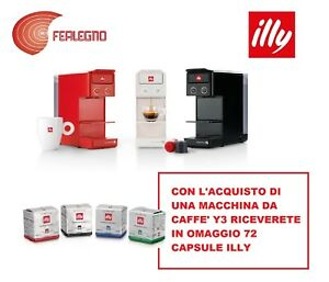 NUOVA-MACCHINA-PER-CAFFE-Y3-ILLY-TUTTI-COLORI-72-CAPSULE-IN-OMAGGIO-ILLY-CAFFE
