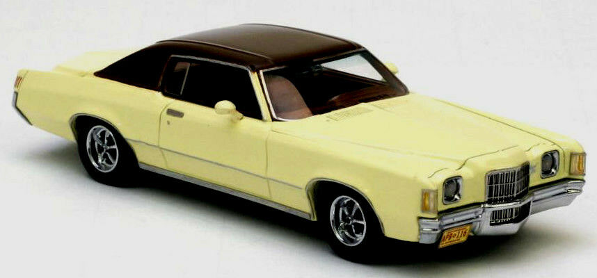 Wonderful Pontiac Grand Prix HT Coupé 1972 - yellow - 1 43 - ltd.Edition 700