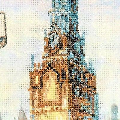 Moscow Cities of Russia Counted Cross Stitch Kit RIOLIS