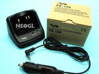 YAESU CD-15A Desktop Quick Charger Cradle VX-5R VX-6R VX-7R VXA-710 car cable