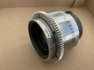 Cooke-Speed-Panchro-50mm-35mm-Cine-Camera-Lens-Mitchell-Bell-amp-Howell-Mount