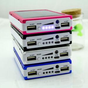 Portable-300000mAh-20-LED-Solar-Power-Bank-Dual-USB-Battery-Charger-New