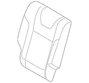 Genuine Ford Seat Cover CC3Z-2562901-HA
