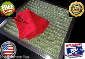 SUPREME-air-filter-permanent-washable-reusable-furnace-ac-WITH-FREE-SUPER-CLOTH