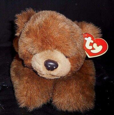 """17 """" Vintage 1996 Ty Pfoten Braun Eisbär Teddybär Plüschtier Spielzeug Klassisch Spielzeug"""