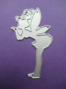 NEW Tinkerbell Fairy With Filigree Wings Metal Craft Die FREE P/&P FROM UK
