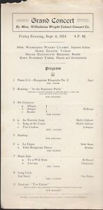 1914-Grand-Concert-Souvenir-Program-by-Wilhelmina-Wright-Calvert-Concert-Co
