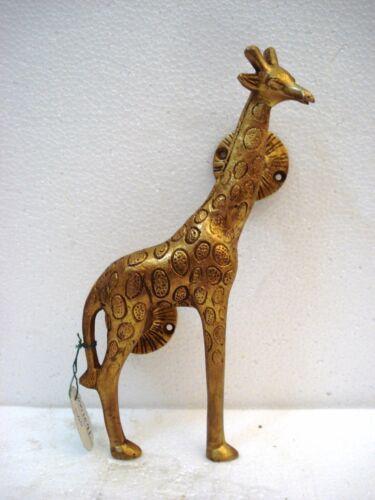 Giraffe Shape Door Handle Brass Golden Victorian Style Handmade Home Decor BM11