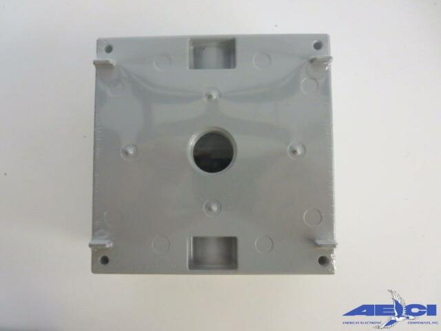 """new pass /& seymour WPEX1 SINGLE GANG 1/"""" EXTENSION RING 9.5 CU IN"""