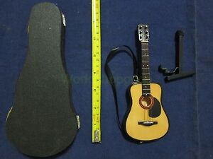 1-6-Scale-Classcial-Guitar-with-Case-Musical-Instrument-for-12-034-Action-figure-B