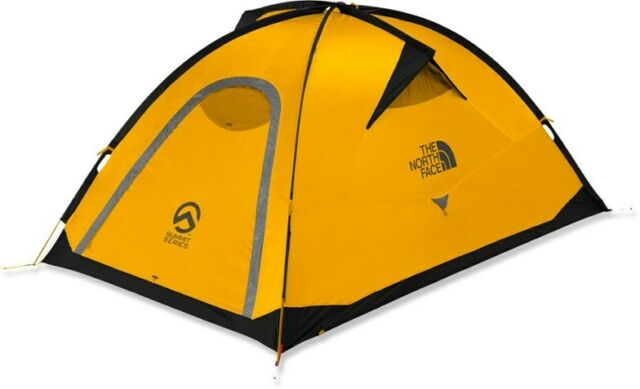 North Face Summit Series Assault 3 Mountaineering Climbing Camping Tent - Gold
