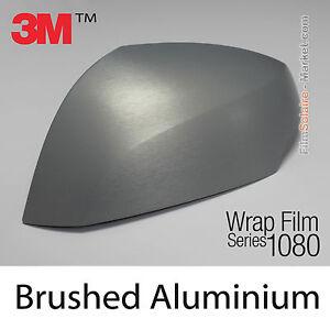 100x150cm film brushed aluminum 3m 1080 br120 vinyl covering series wrap film ebay. Black Bedroom Furniture Sets. Home Design Ideas
