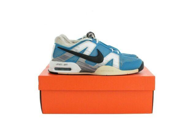Nike 2010 Air Max Court Ballistec 2.3 Rafael Nadal Tennis Shoes Rare US 9