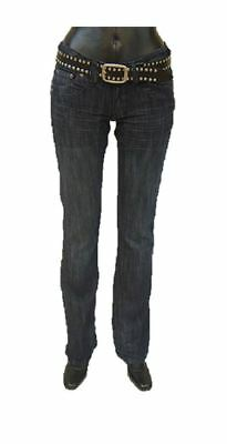 Buck`s Bj12 Girls-hüft-jeans Rinsed-used Style-valerie New Varieties Are Introduced One After Another Clothing, Shoes & Accessories
