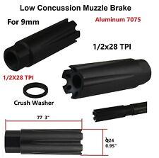 Sil Aluminum Skeleton Muzzle Brake Compensator F Ruger 1022 Threaded 1//2x28 TPI