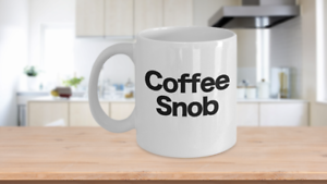 Coffee-Snob-Mug-White-Coffee-Cup-Funny-Gift-for-Barista-Gourmet-Connoisseur
