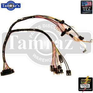 s l300 1968 camaro console wiring harness with automatic transmission