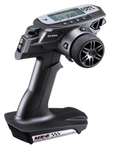 waterproof Empf Sanwa MX-6 DRY 3-Kanal 2.4GHz FH-E Fernsteuerung mit 2x RX-391W