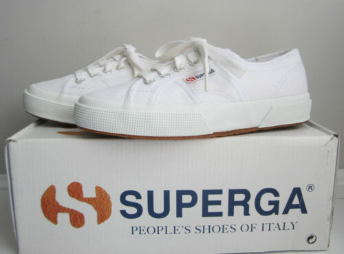 SUPERGA KIDS Sneakers /'Junior Classic/' White size US 8 EURO 24 NIB $50