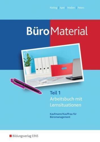 1 von 1 - Büromaterial Teil 1 Kauffrau für Büromanagement Arbeitsbuch mit Lernsituation