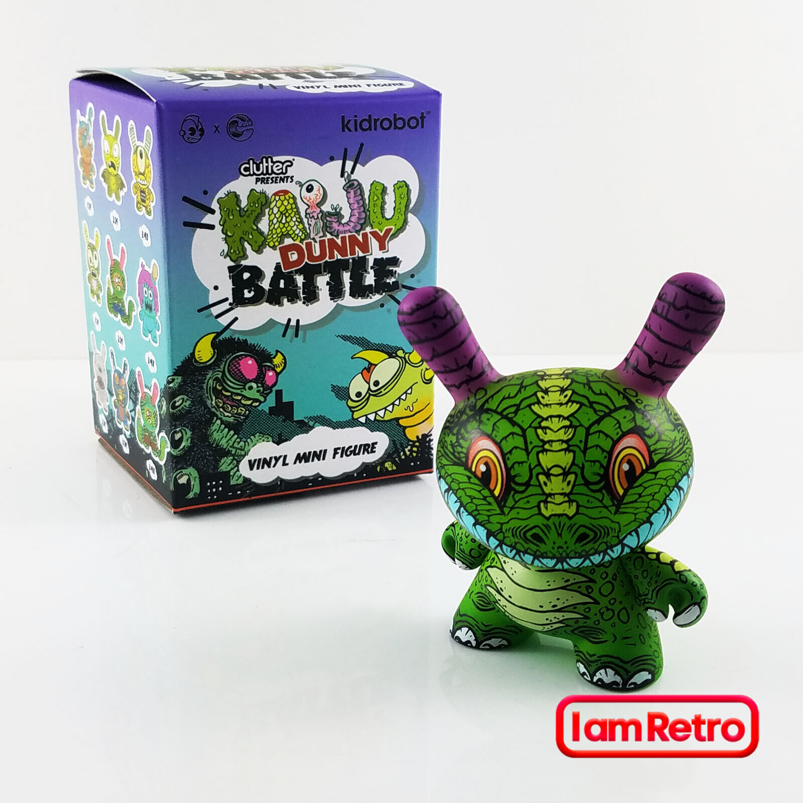 Dunny Saurus Rex - Kaiju Dunny Battle 3  Mini Figure Kidrobot Brand New in Box