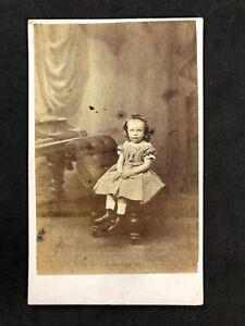 Victorian-Carte-De-Visite-CDV-Child-Girl-Eckley-Lytham