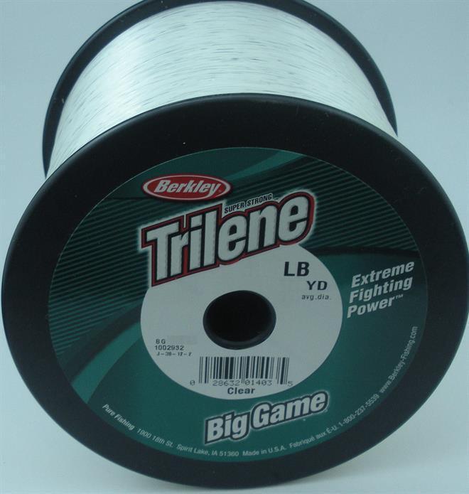 Berkley 1002998 BG350-15 50 Lb Big Game Monofilament Line 3 Lb Spool Clear 10538