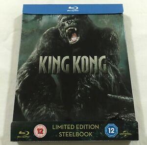 King-Kong-2005-Limited-Edition-Steelbook-Blu-Ray-Region-Free-Like-New