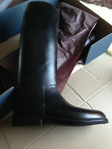 MUSTANG-RIDING-BOOTS-BRONZE-BLACK-SIZE-42-UK-8-WIDTH-N-NEW-BOXED