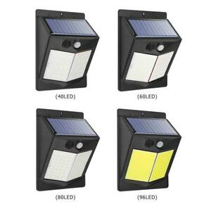 Solaire-DEL-Wall-Light-PIR-Detecteur-de-mouvement-3-modes-Outdoor-Garden-Yard-Securite-Lampe