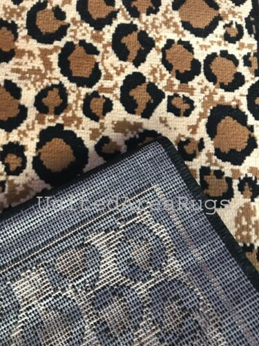 2x8 Runner Rug Leopard Wild Animal Design Safari Tiger Panther Cheetah Skin New