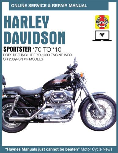 Harley-Davidson Sportster 1200 Haynes Online Repair Manual