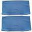 Indexbild 15 - 2 Stück Kopfkissenbezug Kissenbezug Kissenhülle Baumwolle Reißverschluss 40x80cm