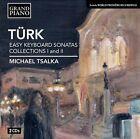 Daniel Gottlob Trk: Easy Keyboard Sonatas, Collections 1 & 2 (CD, Jan-2013, 2 Discs, Grand Piano)