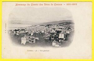 cpa-06-CANNES-Alpes-Maritimes-HOMMAGE-du-COMITE-des-FETES-de-CANNES-1901-1902