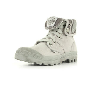 Chaussures Boots Palladium femme US Baggy Vapor Metal W F taille Gris Grise