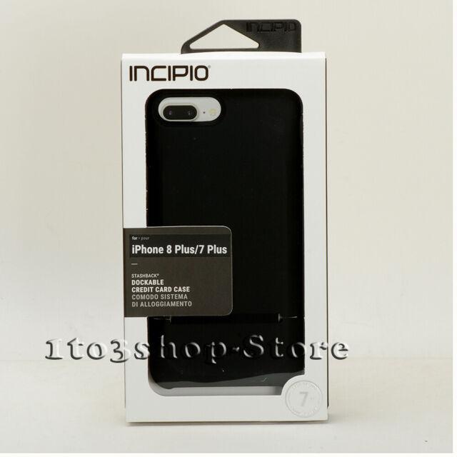 reputable site 3ea41 2aa20 Apple iPhone 7 Incipio Stashback Black Dockable Credit Card Case Cover