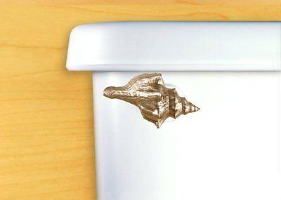 DECORATIVE Bath Tank Lever Toilet Flush Handle Seashell
