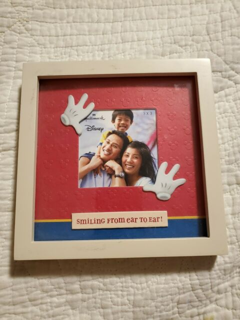 Disney Mickey Mouse Baby Boy First Year 12 Month Multi Photo Frame