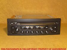 PEUGEOT PARTNER / COMBO / VAN 2003 - 2008 CD PLAYER WITH CODE + WARRANTY. RD3-01