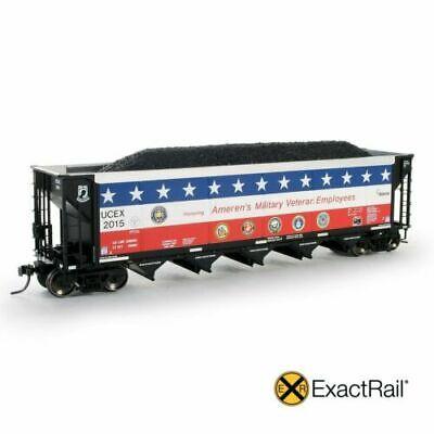 HO Scale LOT 10 ExactRail EQ-1003 Heap Style Coal Load Bethlehem Hopper SEALED