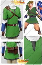 legend of zelda Link Cosplay Costume skyward sword only tunic & hat