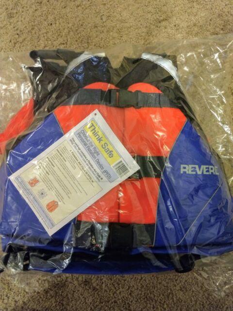 Revere Cutback 260 Premium Whitewater Life Jackets
