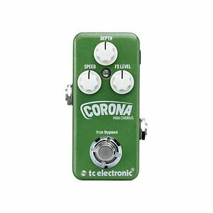 tc electronic Corona Mini Chorus Flexible SCF and Tri-Chorus Stompbox [ TC024 ]