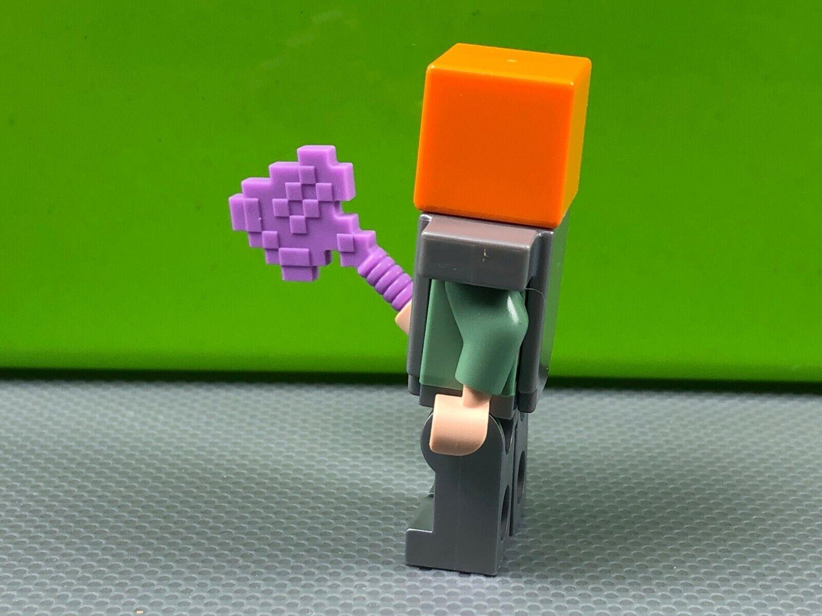 LEGO Medium Lavender Pickaxe Blocky Minecraft Pickaxe