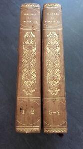 Oeuvres Di P. Corvo T1-2 3-4 M. H. Il Corney 1838 Parigi Pourrat/Frontespizio
